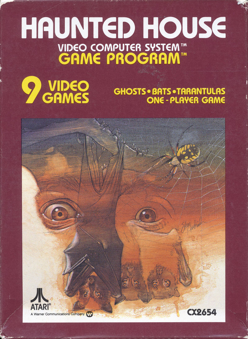 Haunted House for Atari 2600 (1981) - MobyGames