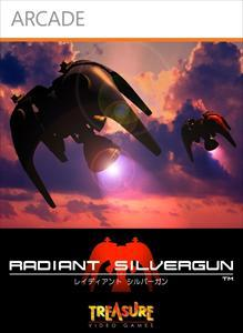 Radiant Silvergun Xbox 360 Front Cover first version