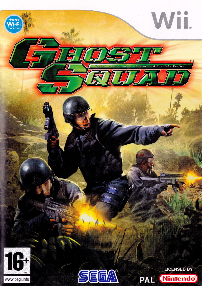Ghost Squad Wii Front Cover