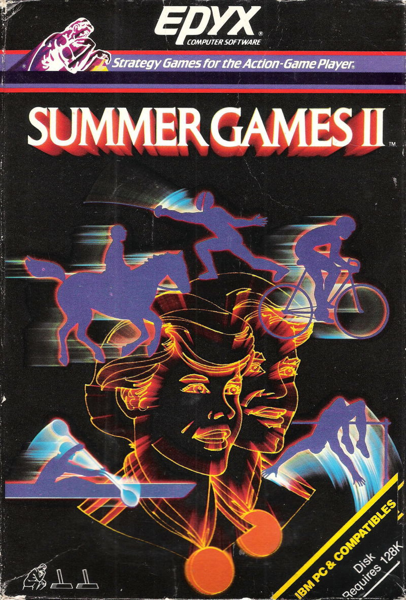 Summer Games II PC Booter Front Cover