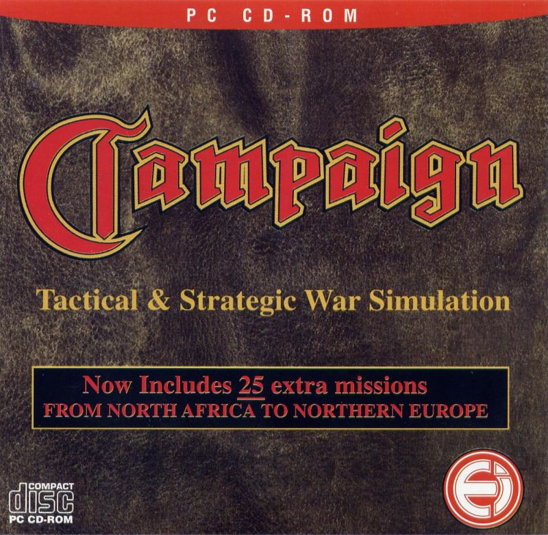 Campaign Including 25 Extra Missions DOS Front Cover