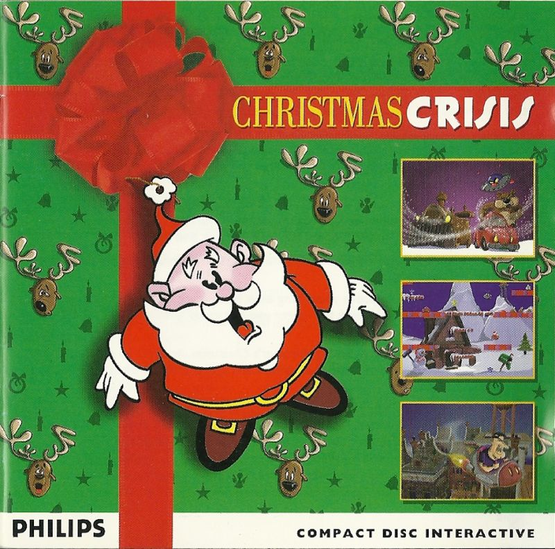 Christmas Crisis CD-i Front Cover