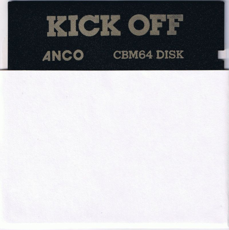 Kick Off Commodore 64 Media