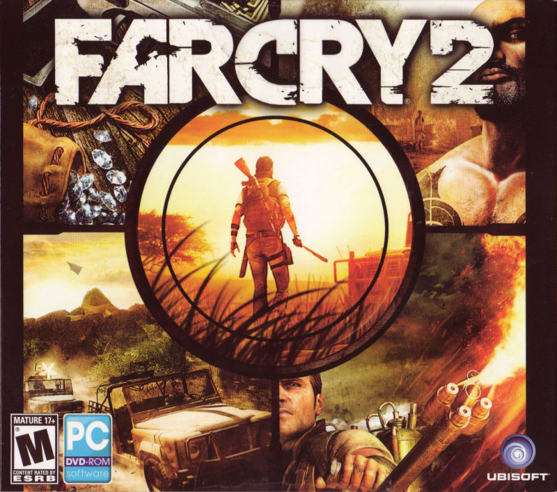 Far Cry 2 Windows Front Cover