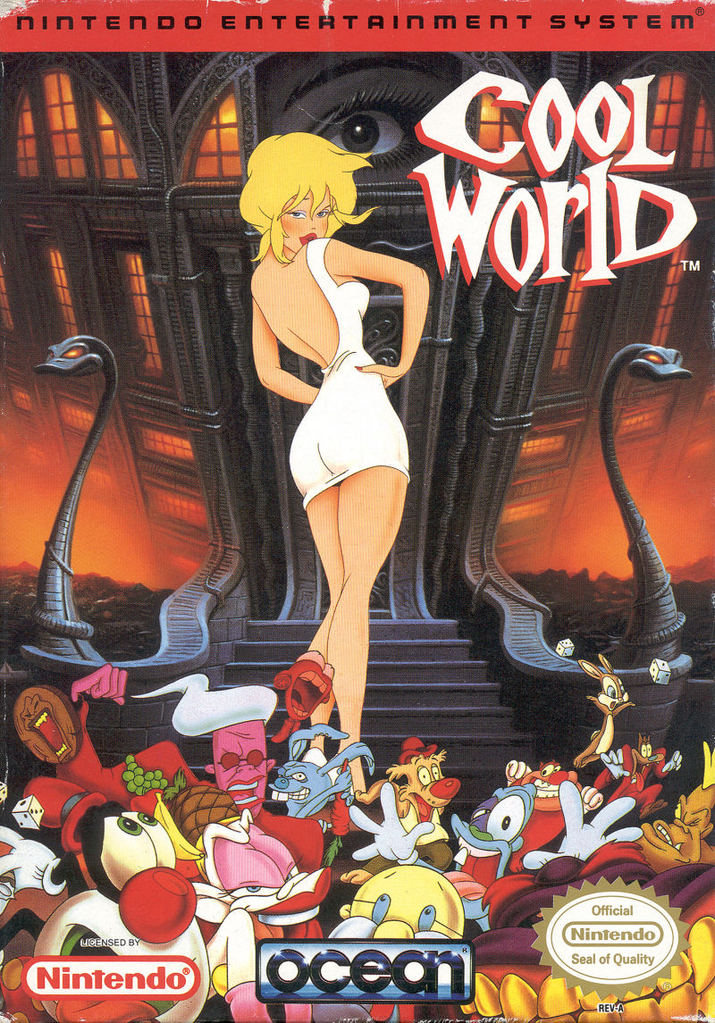 Cool World NES Front Cover
