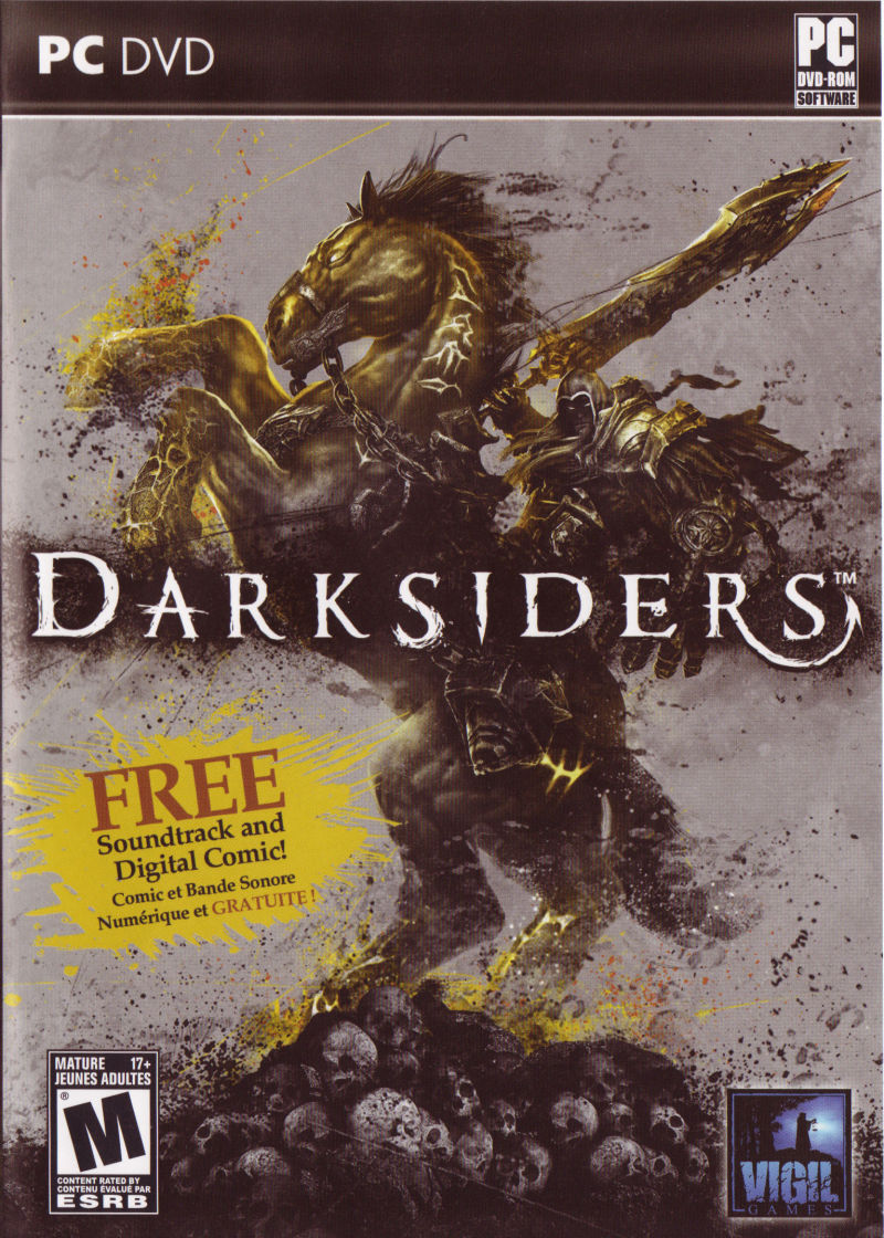 Darksiders Windows Front Cover