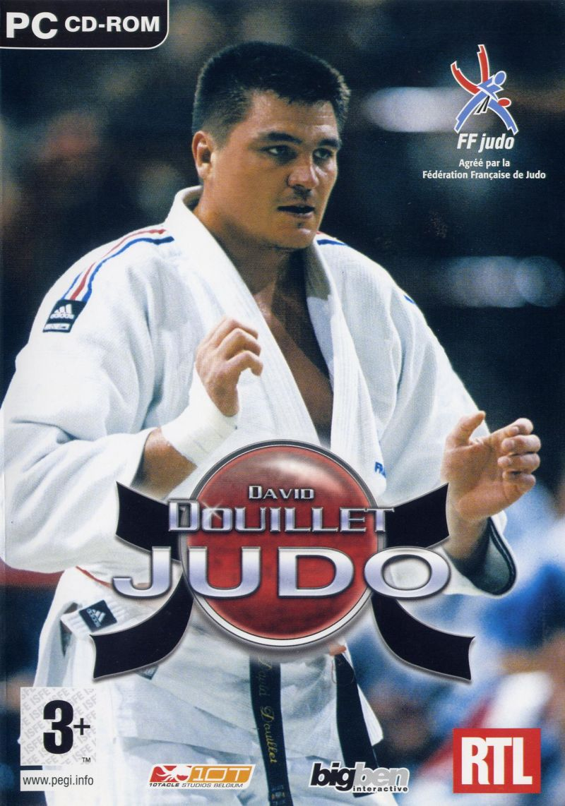 David Douillet Judo Windows Front Cover