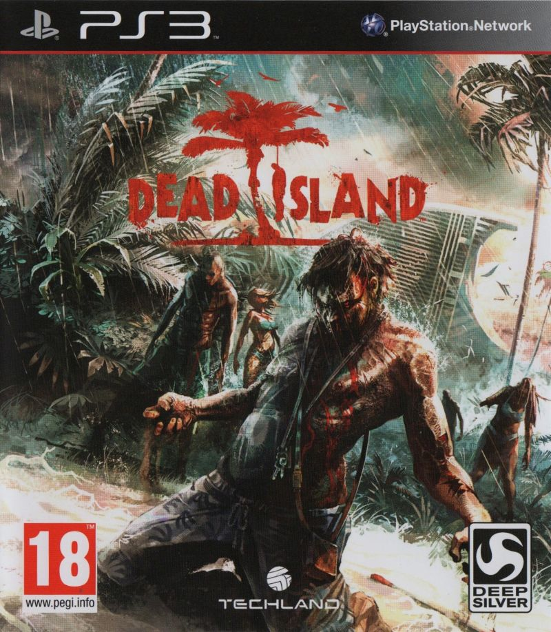 Dead Island PlayStation 3 Front Cover
