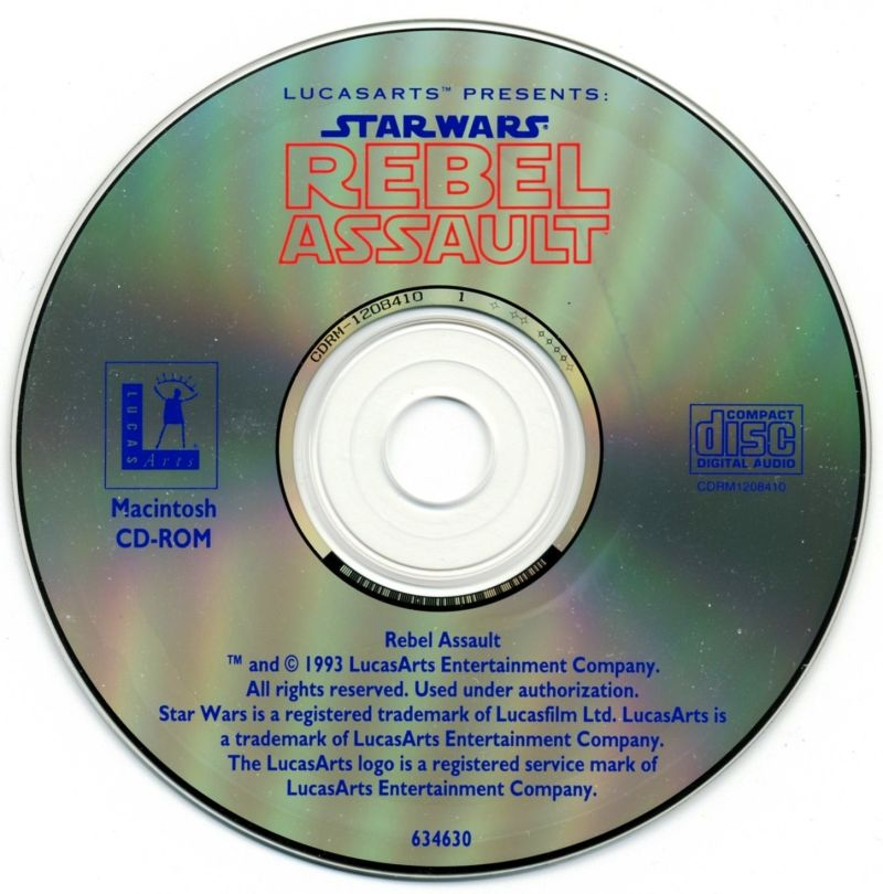 Star Wars: Rebel Assault Macintosh Media