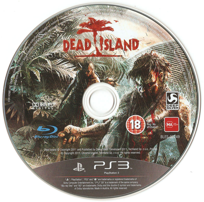 Dead Island PlayStation 3 Media