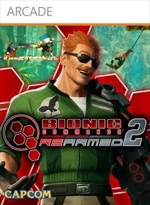 Bionic Commando Rearmed 2 Xbox 360 Front Cover