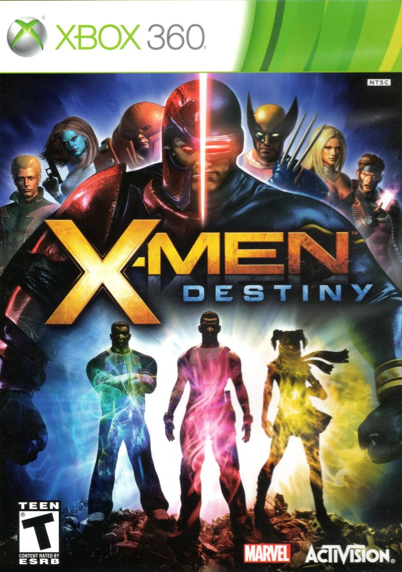 X-Men: Destiny Xbox 360 Front Cover