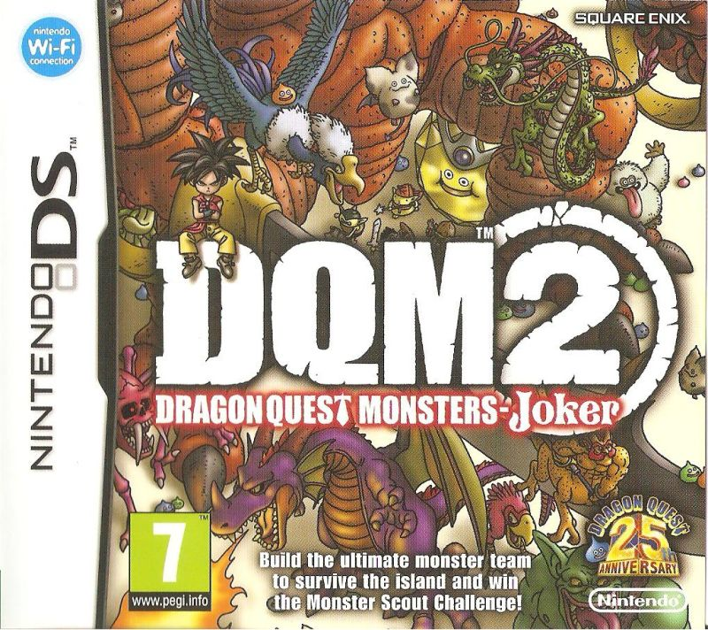 Dragon Quest Monsters: Joker 2 Nintendo DS Front Cover