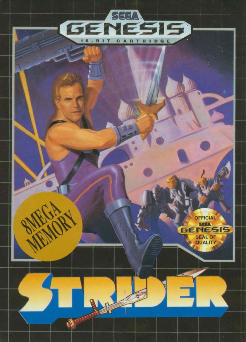 Strider Genesis Front Cover