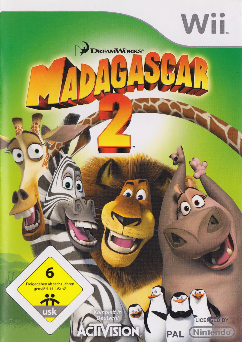 Madagascar Escape 2 Africa For Wii 2008 Mobyrank Mobygames
