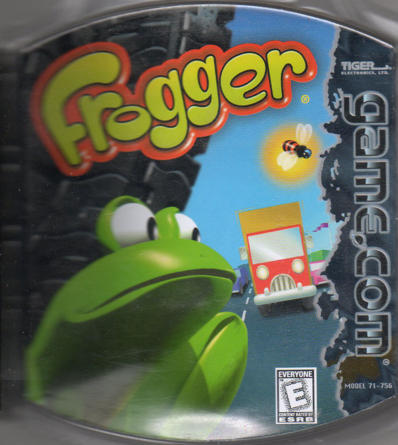 Frogger Game.Com Front Cover