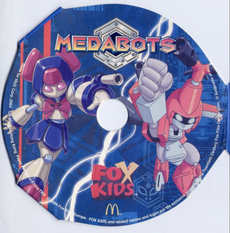 Medabots Windows Front Cover