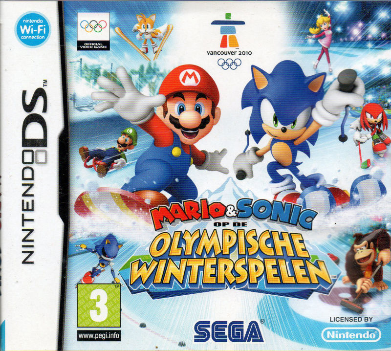 Mario & Sonic at the Olympic Winter Games (2009) Nintendo DS