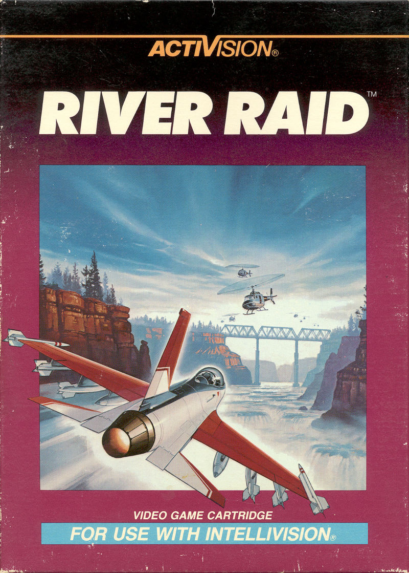 River Raid for Intellivision (1983) - MobyGames