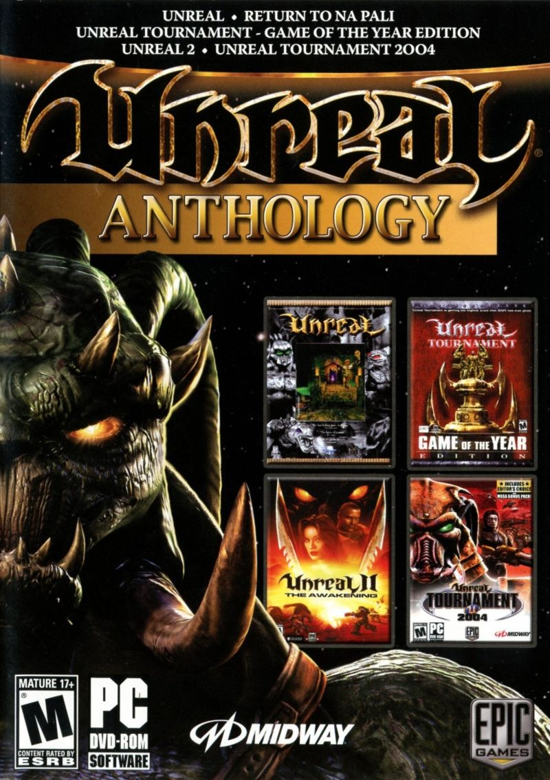 Unreal: Anthology Windows Front Cover