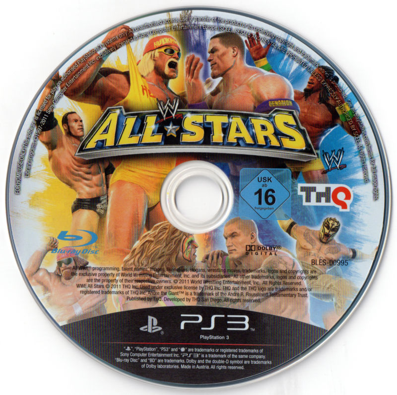 f49c81c7f46c WWE All Stars (2011) PlayStation 3 box cover art - MobyGames