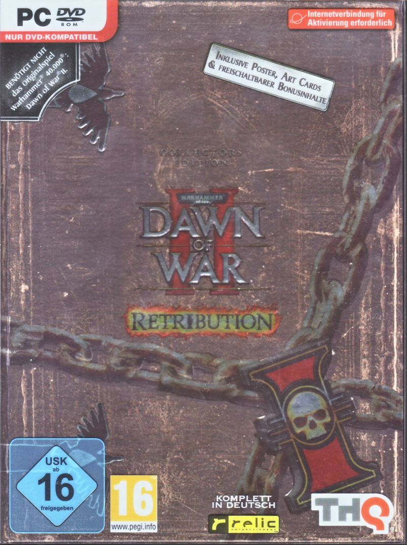 Warhammer 40,000: Dawn of War II - Retribution (Collector's Edtion) Windows Front Cover