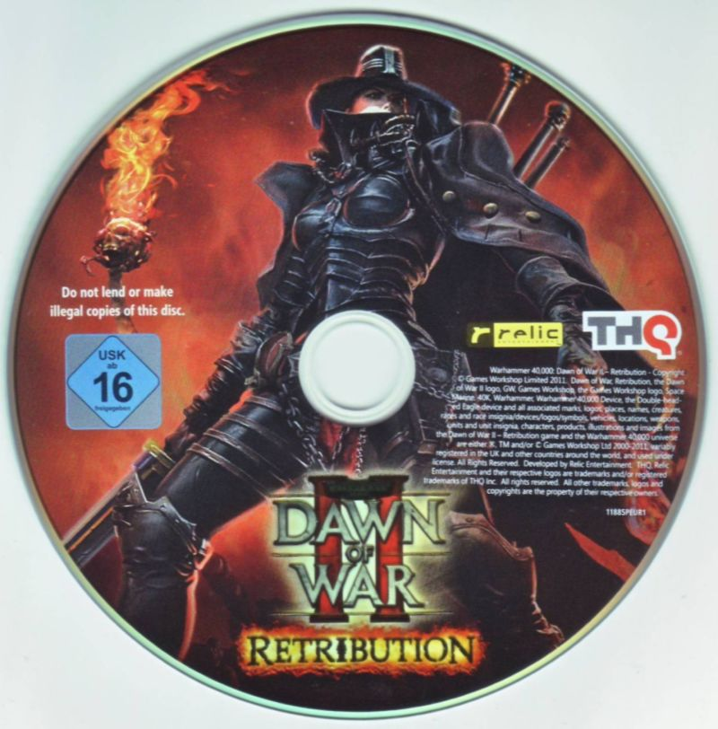 Warhammer 40,000: Dawn of War II - Retribution (Collector's Edtion) Windows Media