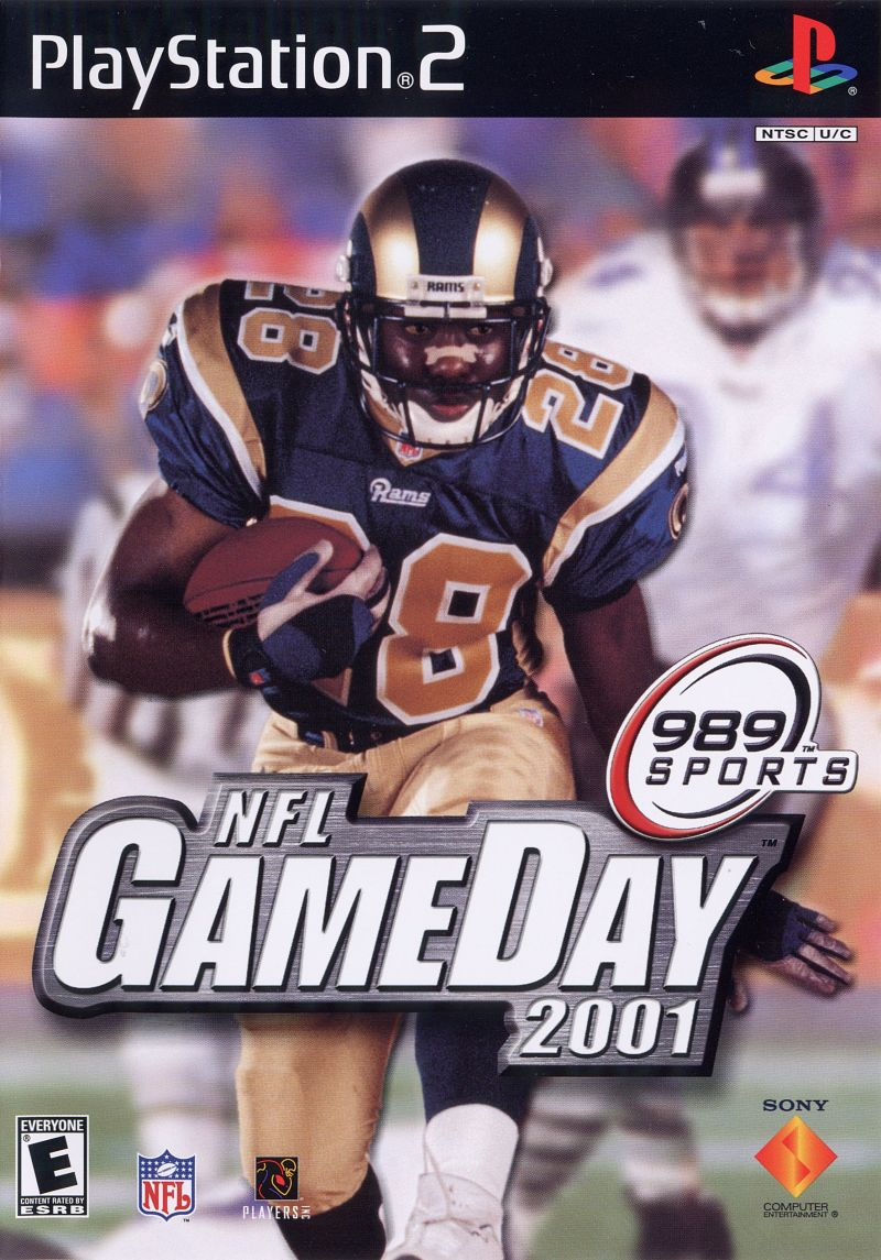 NFL GameDay 2001 PlayStation 2 Front Cover