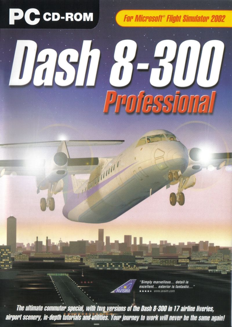 dash 8 300 professional for windows 2003 mobygames rh mobygames com Dash 8 200 Dash 8 300 Safety