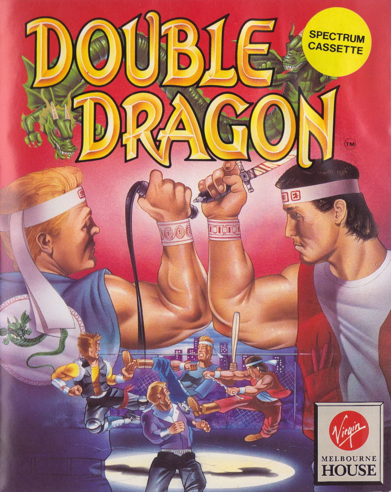 Double Dragon 1987 Box Cover Art Mobygames