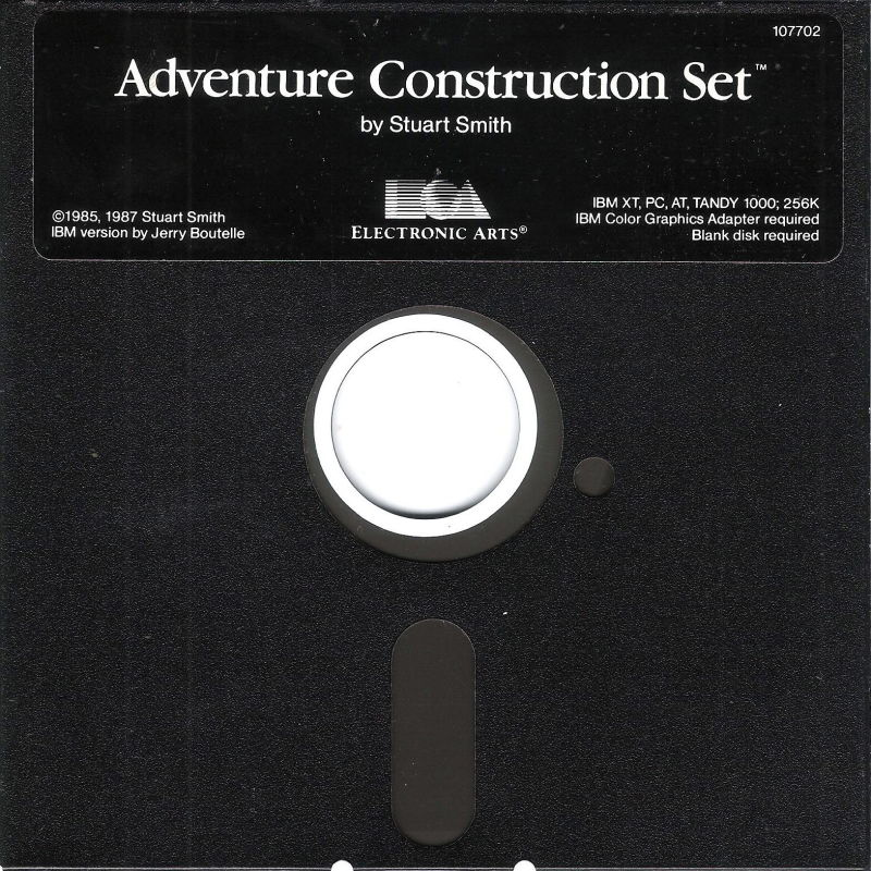 Stuart Smith's Adventure Construction Set DOS Media