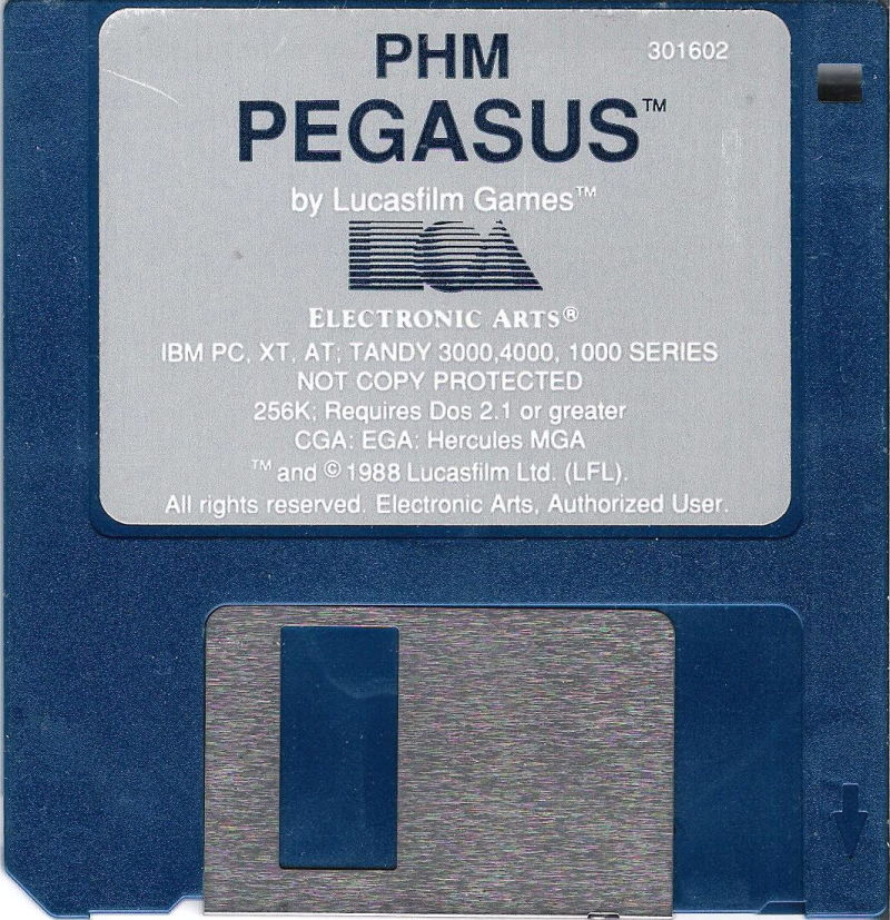 PHM Pegasus DOS Media