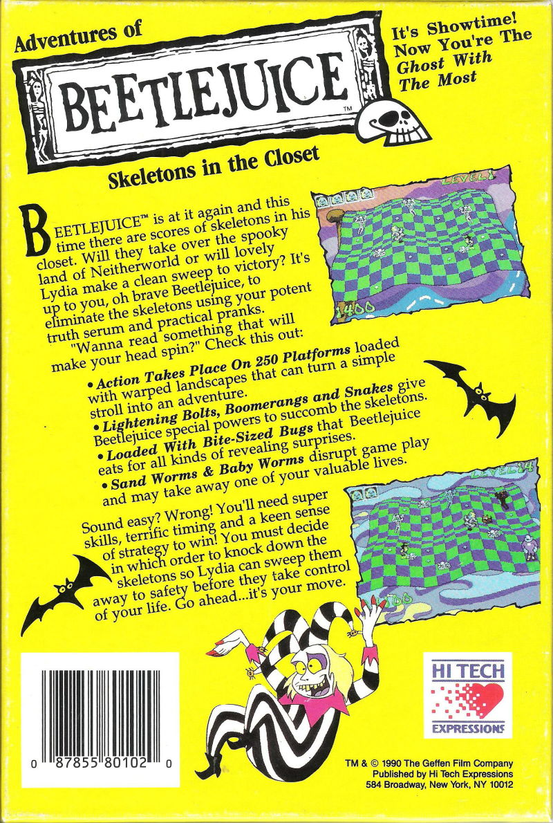 Adventures of Beetlejuice: Skeletons in the Closet (1990