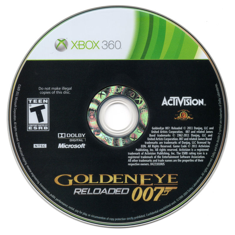 GoldenEye 007: Reloaded Xbox 360 Media