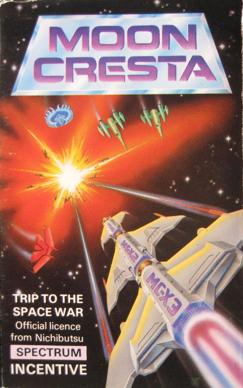 Moon Cresta ZX Spectrum Front Cover