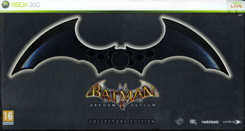 Batman: Arkham Asylum (Collector's Edition) Xbox 360 Front Cover