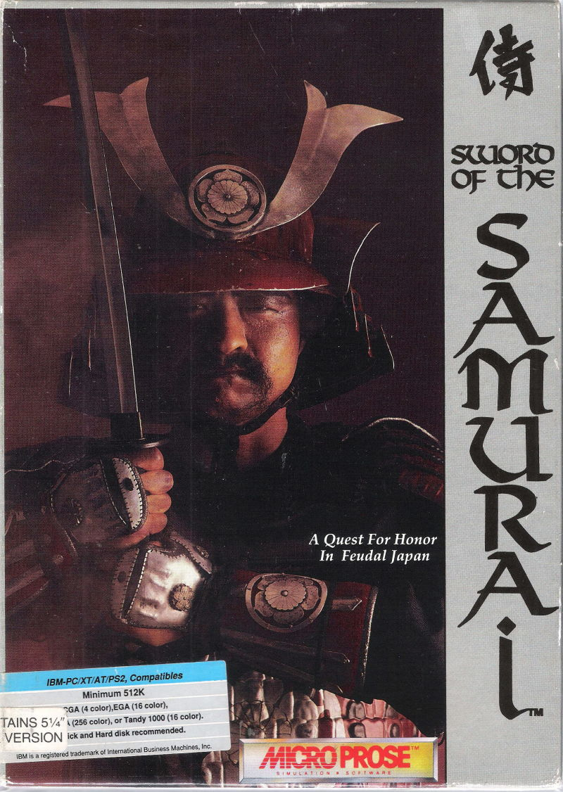 Sword of the Samurai DOS Front Cover