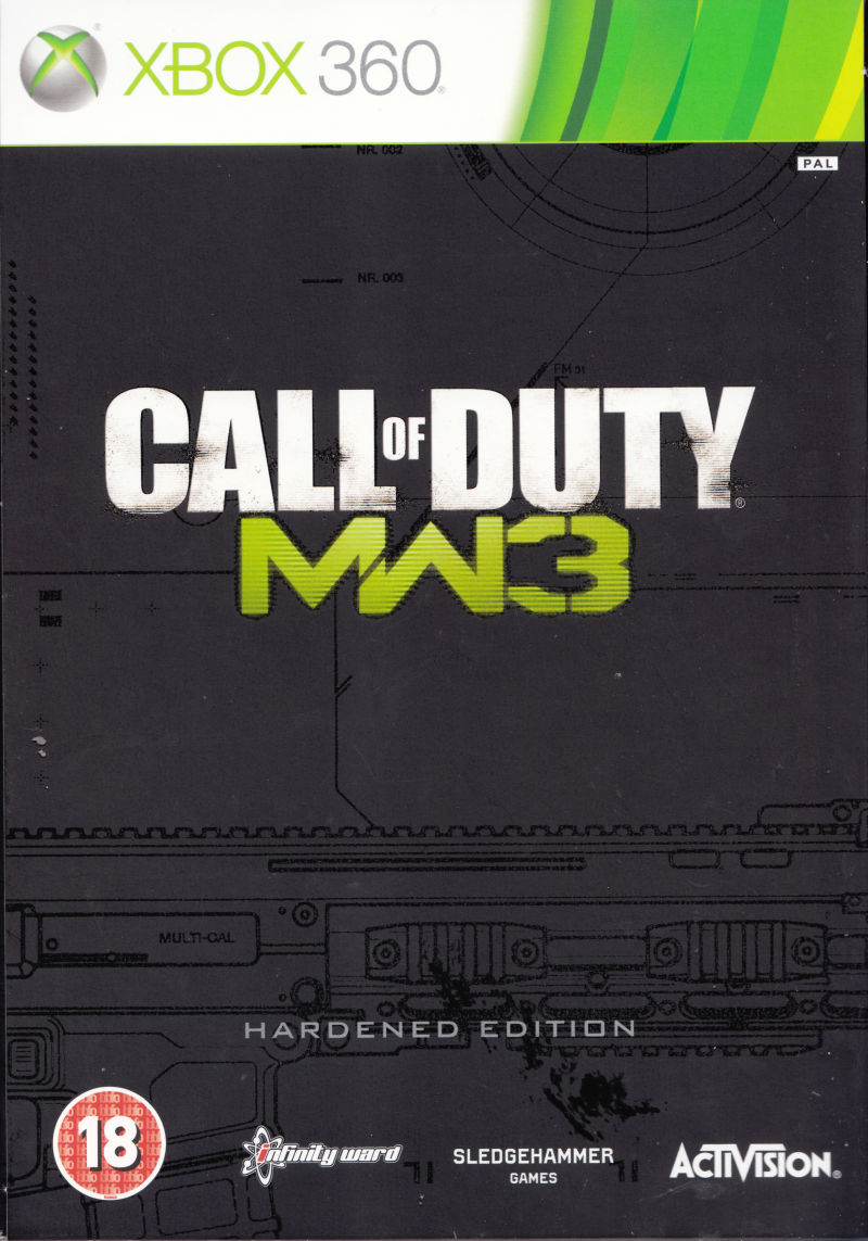 Call of Duty: MW3 (Hardened Edition) Xbox 360 Front Cover