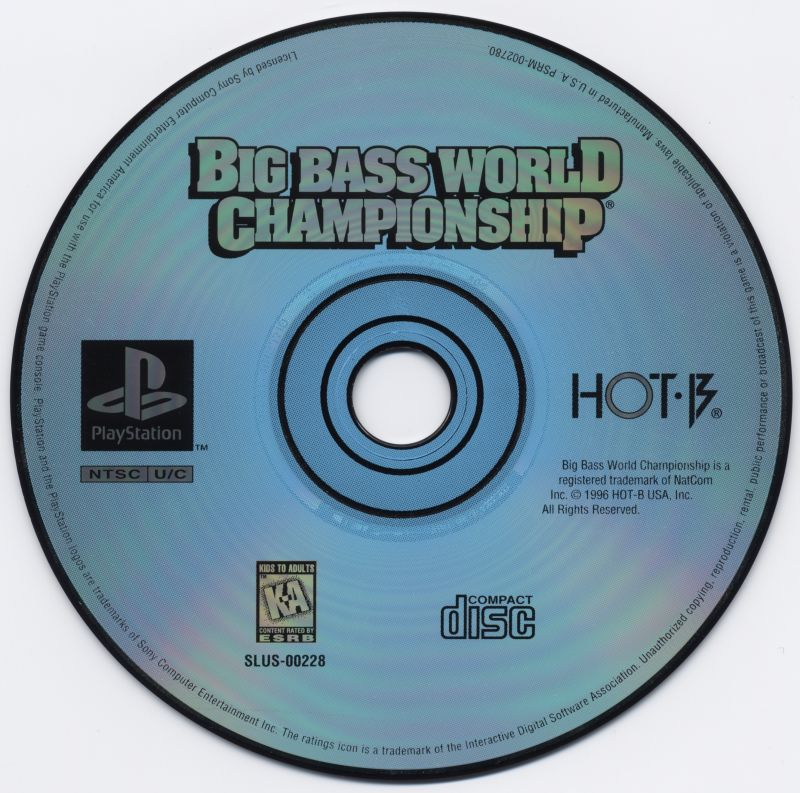 Big Bass World Championship PlayStation Media