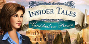 Insider Tales: Vanished in Rome Windows Front Cover