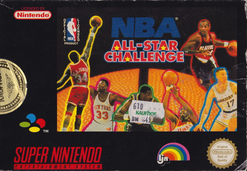 2521a0e2b23 NBA All-Star Challenge for SNES (1992) - MobyGames
