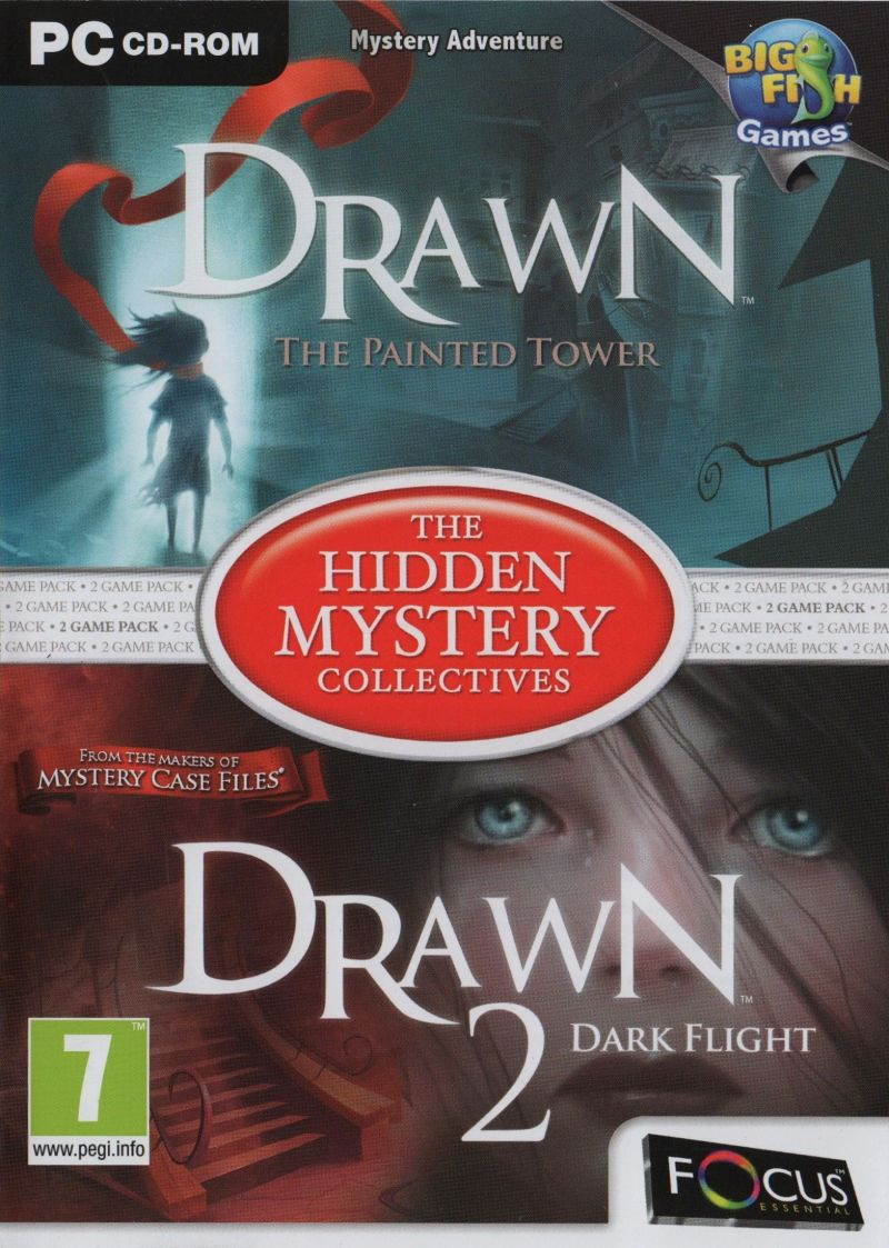 The Hidden Mystery Collectives: Drawn: The Painted Tower / Drawn 2: Dark Flight Windows Front Cover