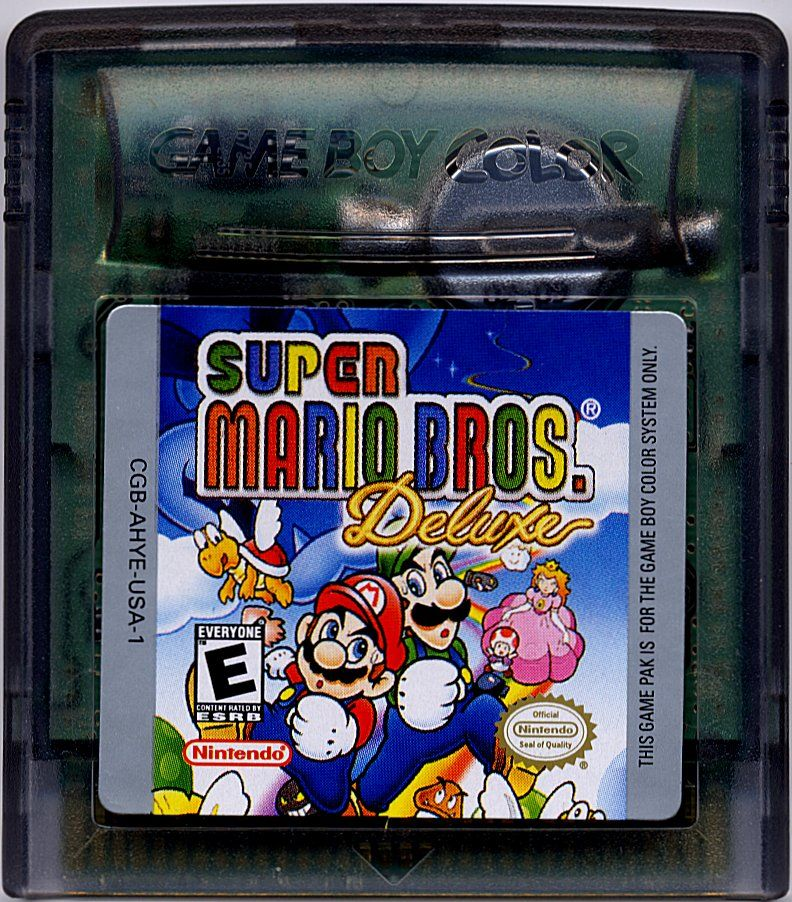 Super Mario Bros. Deluxe Game Boy Color Media