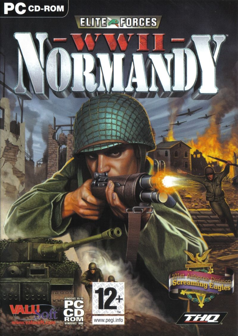 Elite Forces: WWII - Normandy Windows Front Cover
