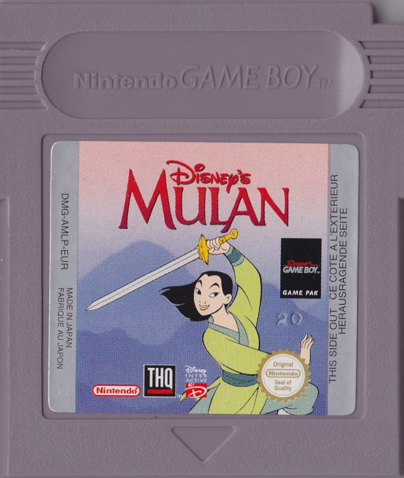 Disney's Mulan Game Boy Media