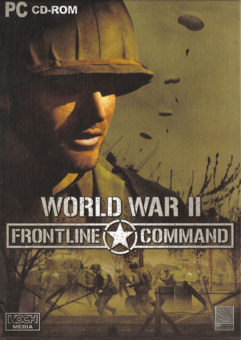 World War II: Frontline Command Windows Front Cover