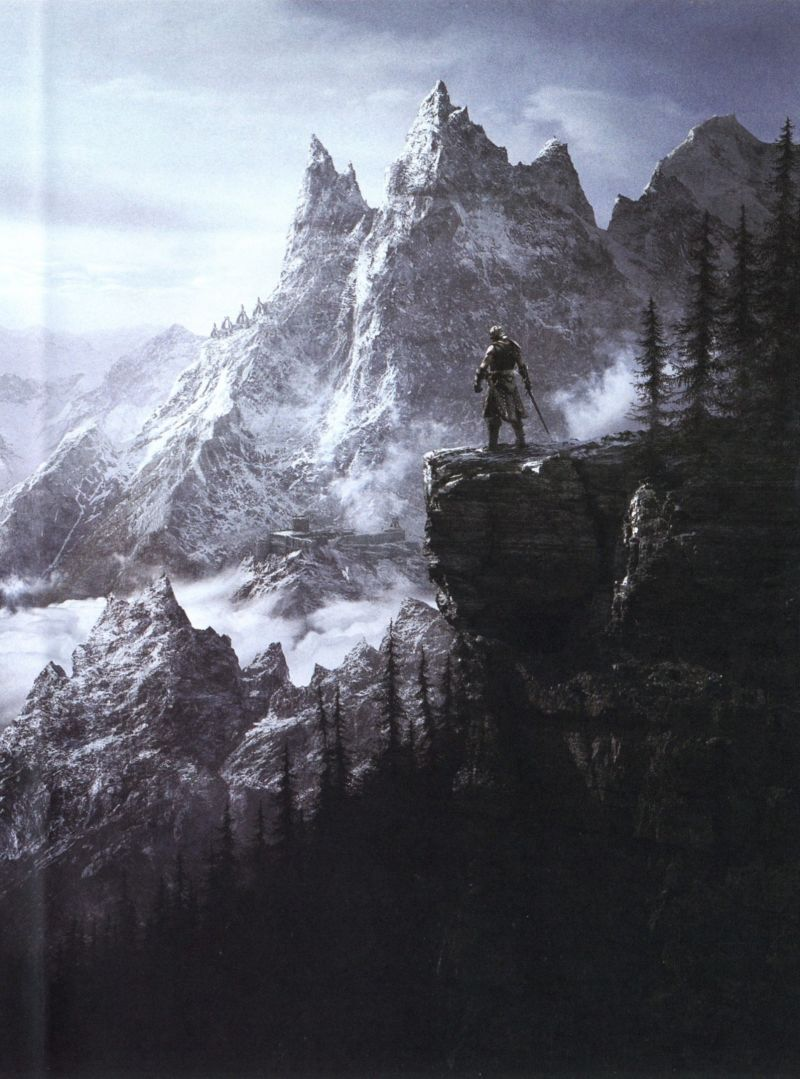 The Elder Scrolls V: Skyrim Windows Other Inlay Right