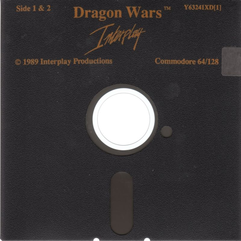 Dragon Wars Commodore 64 Media