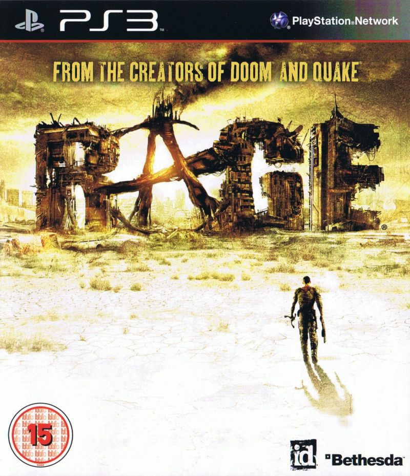 Rage PlayStation 3 Front Cover