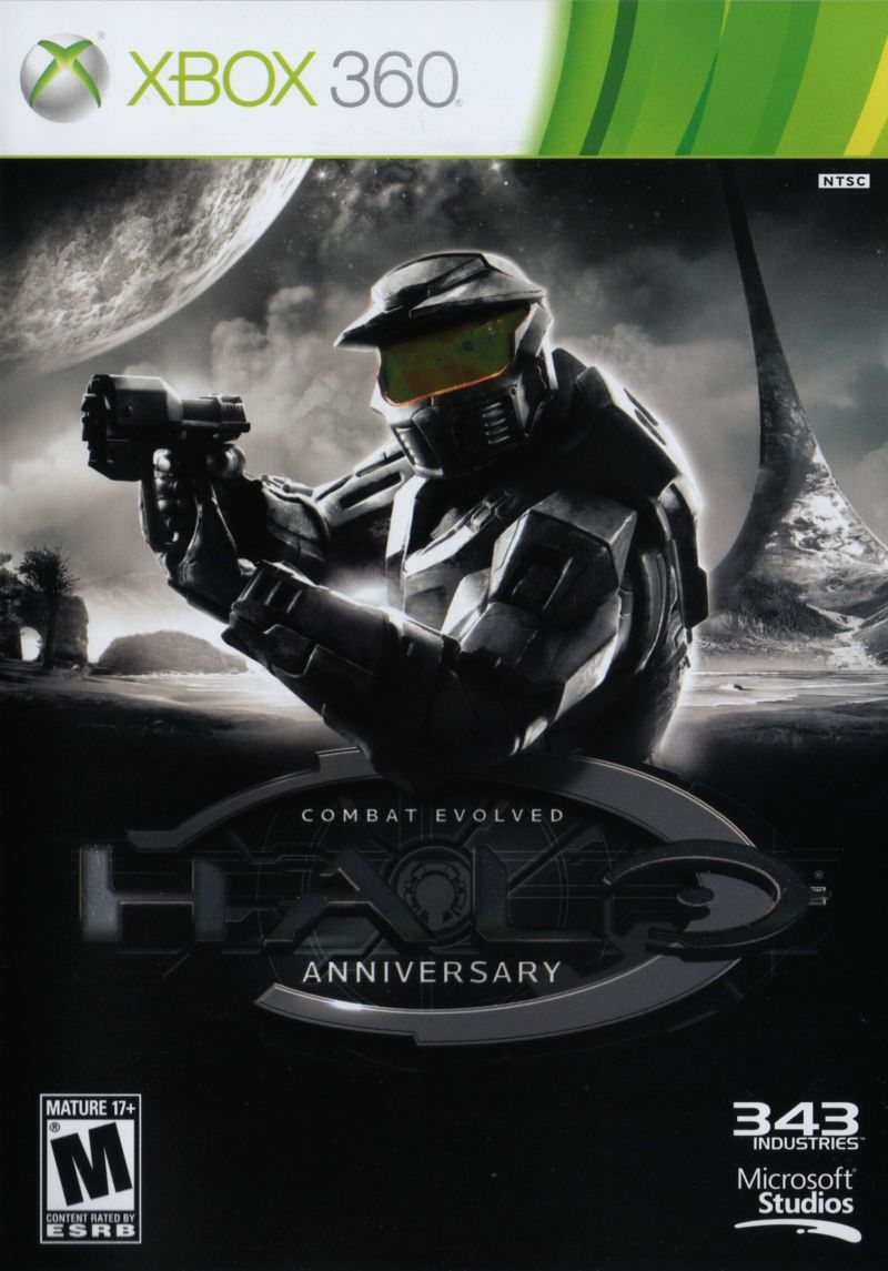 Halo: Combat Evolved - Anniversary Xbox 360 Other Keep Case - Front
